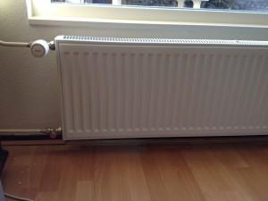 Nieuwe radiator achterzijde